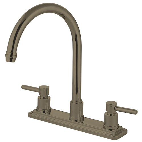 Elements of Design Concord Double Handle Kitchen Faucet