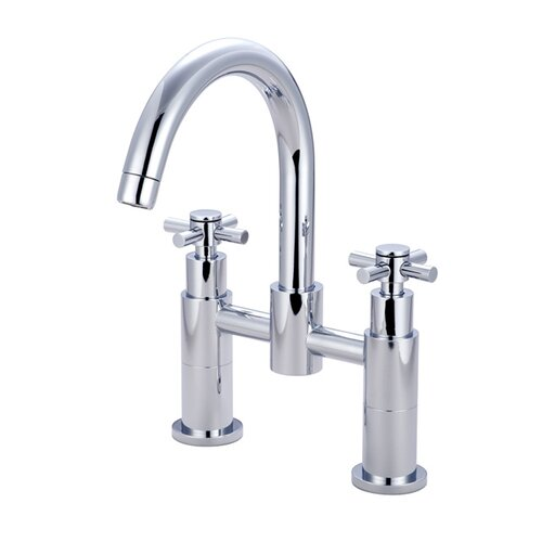 Elements of Design South Beach Deck Mount Clawfoot Tub Filler Faucet
