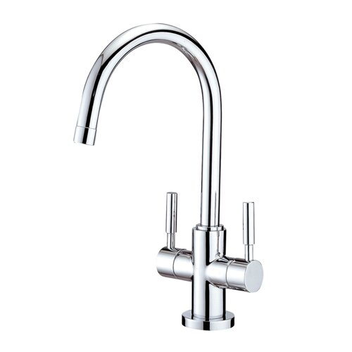 South Beach Double Handle Vessel Sink Faucet without Pop-Up and Plate