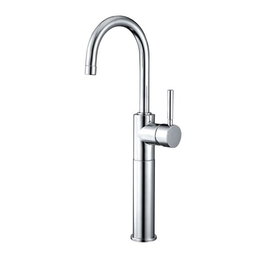 Elements of Design South Beach Single Handle Vessel Sink Faucet without Pop-Up
