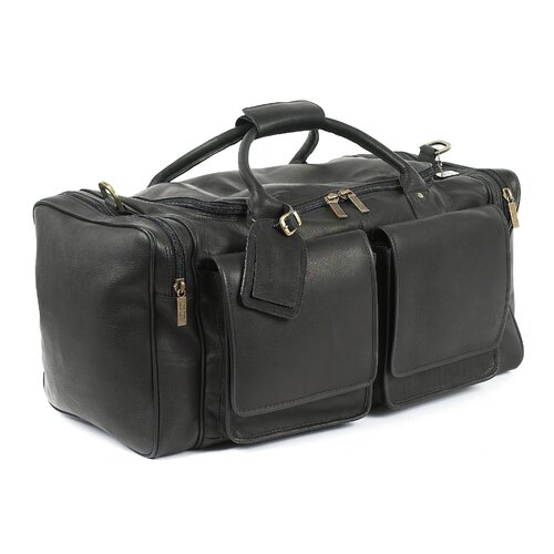 "Claire Chase Hampton's 20"" Leather Carry-On Duffel"