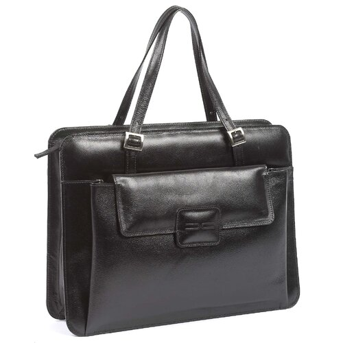 Claire Chase Chantilly Italian Leather Laptop Briefcase