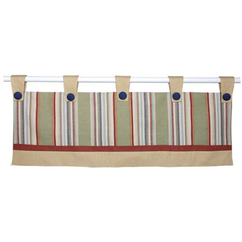 "Doodlefish Safari Double 80"" Curtain Valance"