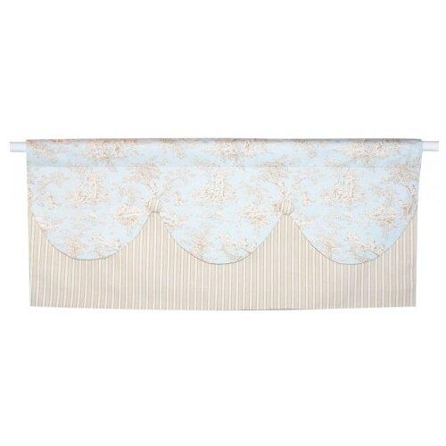 Doodlefish Toile Curtain Valance