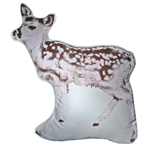 Fauna Large Organic Cotton Fawn Cushion