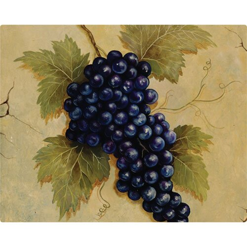 "Magic Slice 12"" x 15"" Grapes Design Cutting Board"