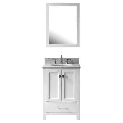 "Virtu Caroline Avenue 24.8"" Single Sink  Bathroom Vanity Set"