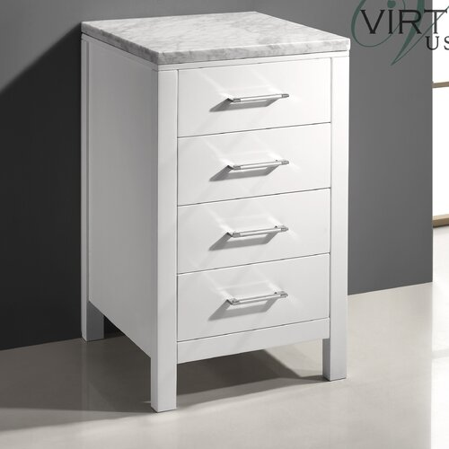 "Wayfair Free Standing Kitchen Cabinets: Virtu Caroline Parkway 20"" X 33.5"" Free Standing Cabinet"