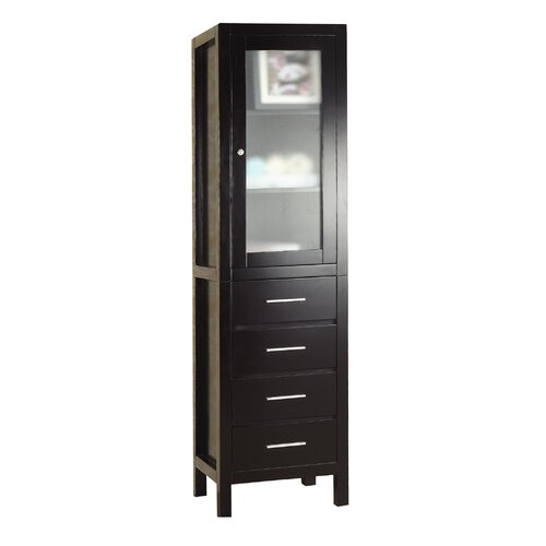 Virtu Wellmont 4 Drawer Side Cabinet