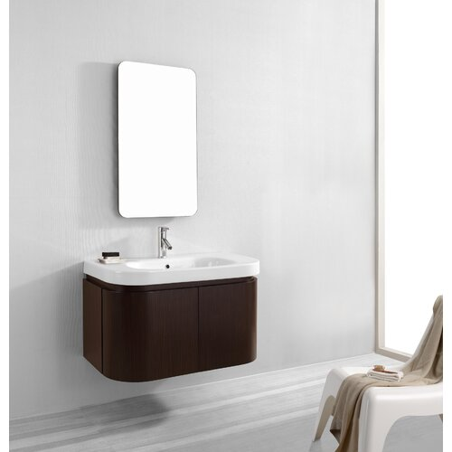 "Virtu Marvella 35.4"" Single Bathroom Vanity Set"