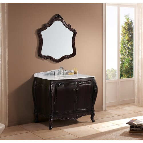 "Virtu Ocarina 40.75"" Single Sink Bathroom Vanity Set"