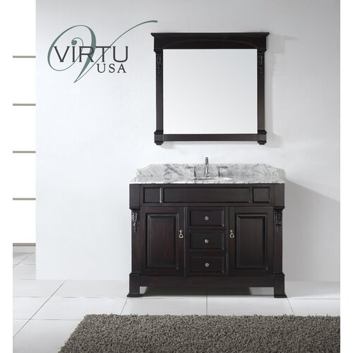 huntshire 47 single bathroom vanity set with mirror wayfair
