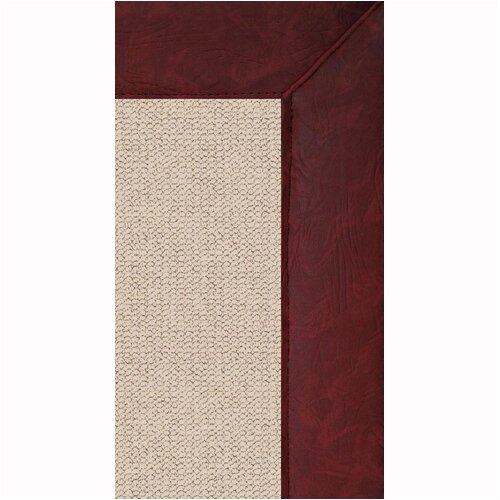 Linon Rugs Athena Natural/Burgundy Rug