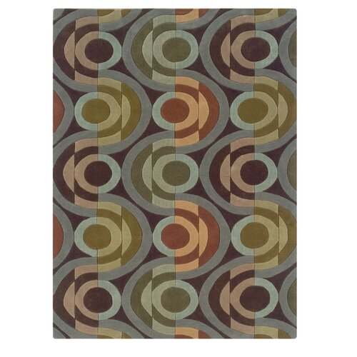 Linon Rugs Trio Light Blue/Multi Rug