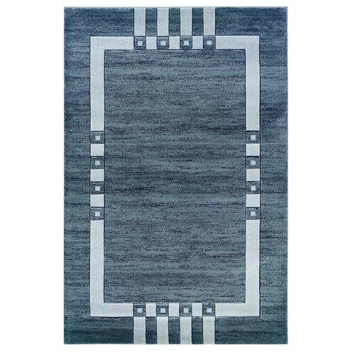 Linon Rugs Milan Grey/Black Rug