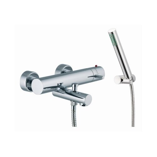 Fima by Nameeks Spillo Wall Mount Thermostatic Tub and Shower Faucet