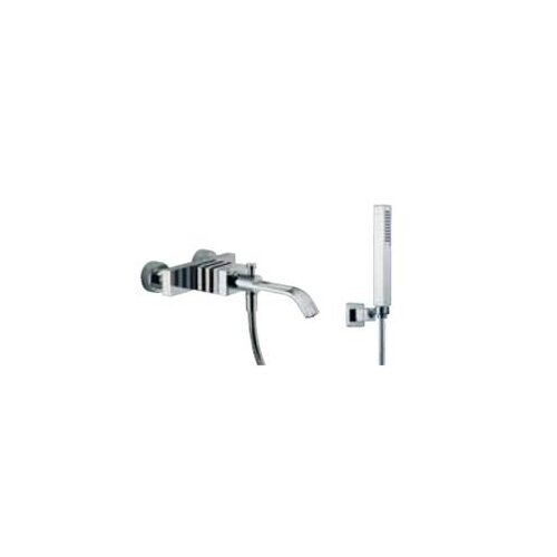 Fima by Nameeks Bio Wall Mount Bath Diveter Tub Faucet with Hand Shower