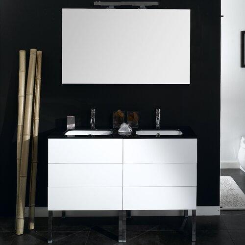 """Iotti by Nameeks Time 47.2"""" Wall Mounted Bathroom Vanity Set"""