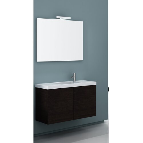 "Iotti by Nameeks Happy Day 39.3"" Wall Mount Bathroom Vanity Set"