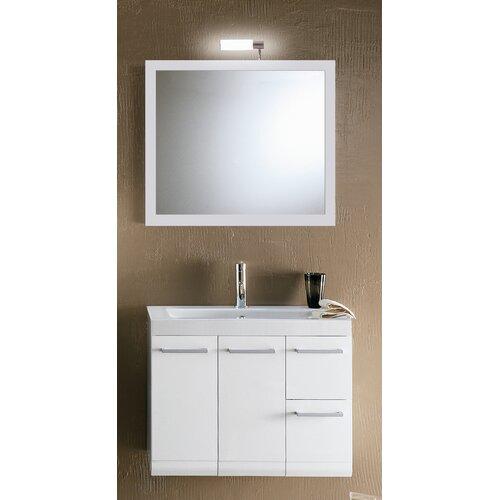 """Iotti by Nameeks Linear 30.4"""" Wall Mounted Bathroom Vanity Set"""