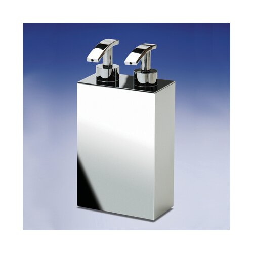 Windisch by Nameeks Accessories Free Standing Double Soap Dispenser