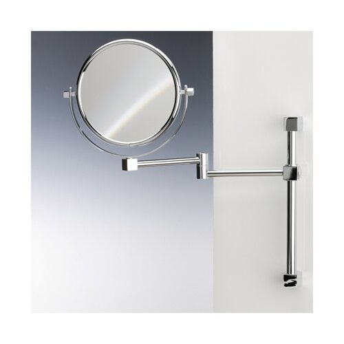 Windisch by Nameeks Double Face Wall Mounted 7X Magnifying Mirror with Two Arm and Two Brazo