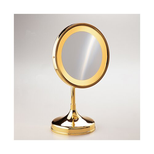 Incandescent Light 5X Magnifying Mirror