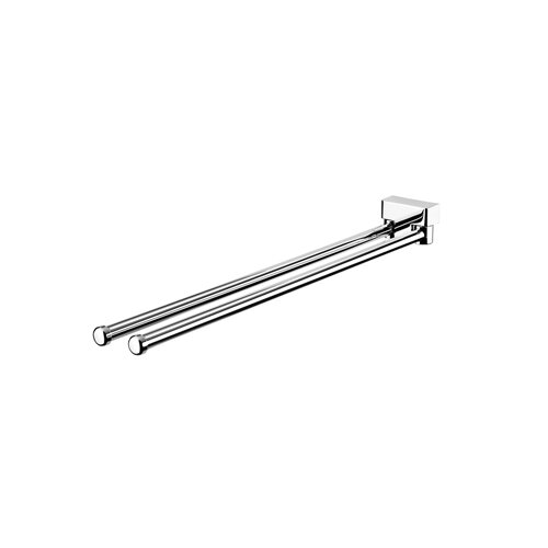 "Geesa by Nameeks BloQ 16.27""  Wall Mounted Towel Bar"