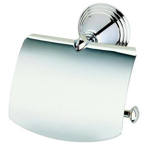 Geesa by Nameeks Montana Classic Toilet Roll Holder with Cover in Chrome