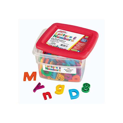 Educational Insights AlphaMagnets and MathMagnets Combo Set Multicolored