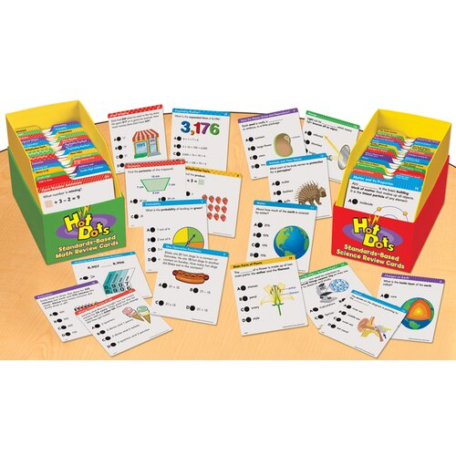 Educational Insights Hot Dots All Year Science Curriculum - Grade 1