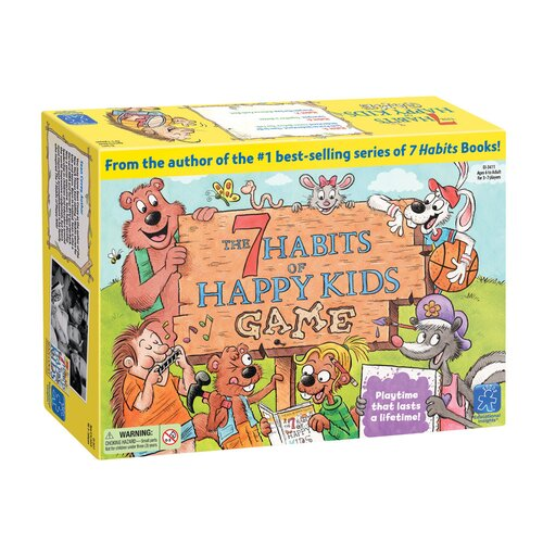 Educational Insights The 7 Habits of A Happy Kids Game