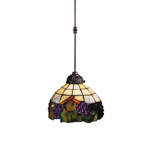 Landmark Lighting Grapevine 1 Light Mini Pendant