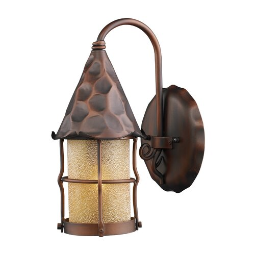 Landmark Lighting Rustica Outdoor Wall Sconce