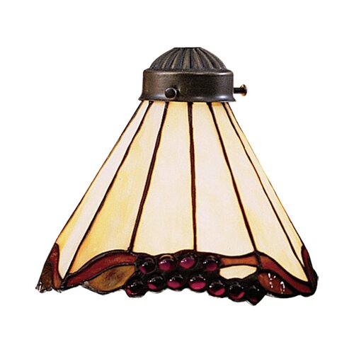 "Landmark Lighting 7.5"" Mix-N-Match Glass Bell Pendant Shade"