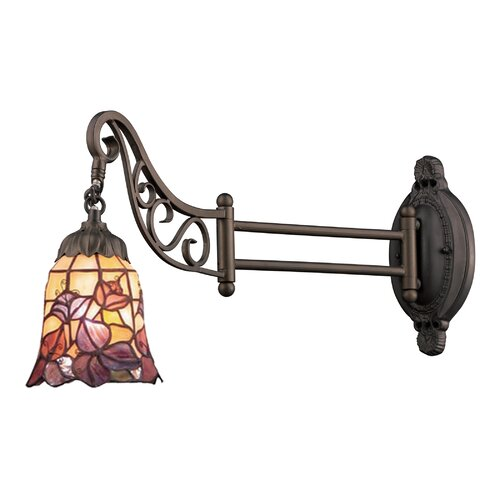 Swing Arm Wall Sconces Hardwired : Robert Abbey Winston Swing Arm Wall Sconce & Reviews Wayfair