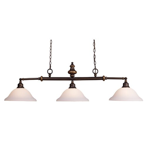 Landmark Lighting Lurray 3 Light Pendant