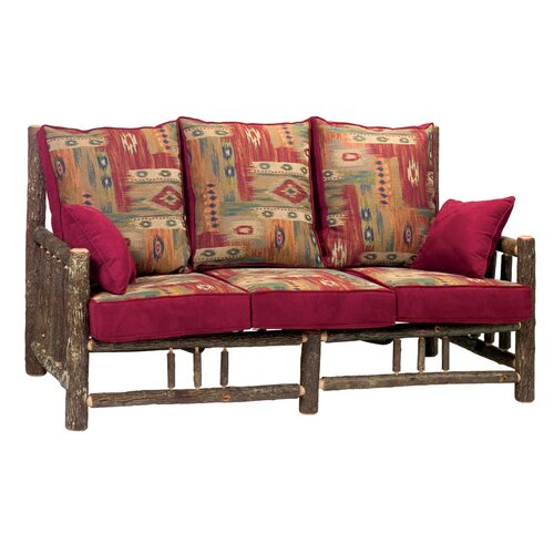 Fireside Lodge Hickory Sofa