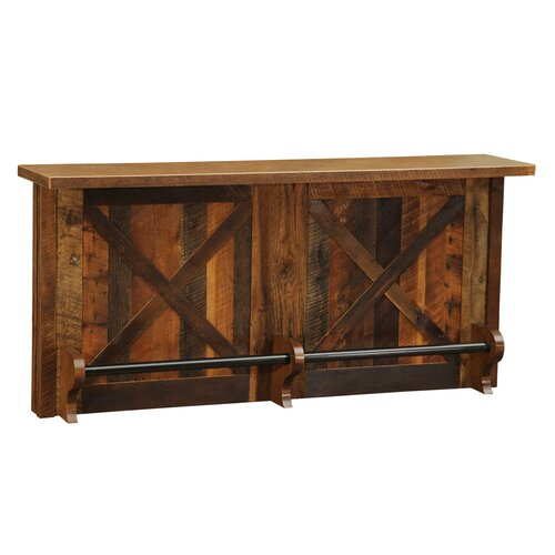Barnwood Home Bar Without Sink