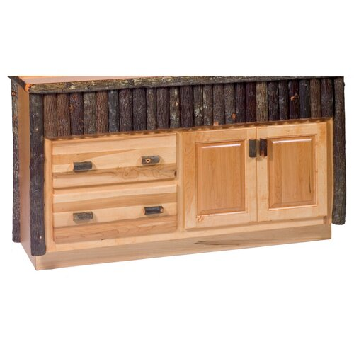 "Fireside Lodge Hickory 60"" Bathroom Vanity Base"