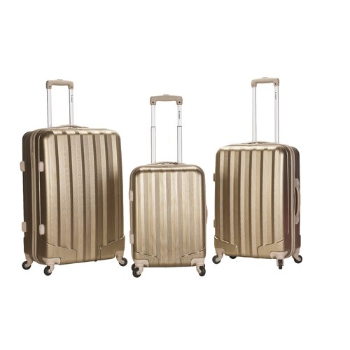 Rockland Metallic 3 Piece Upright Set