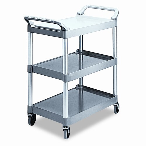 "Rubbermaid Commercial 37.75"" Economy Plastic Cart"