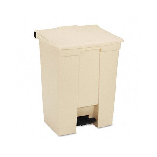 Rubbermaid Commercial Fire-Safe Step-On Receptacle 18-Gal. Wastebasket