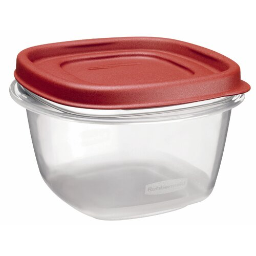 Rubbermaid 2 Cup Square Easy Find Container