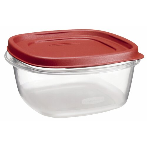 Rubbermaid 5 Cup Easy Find Square Container
