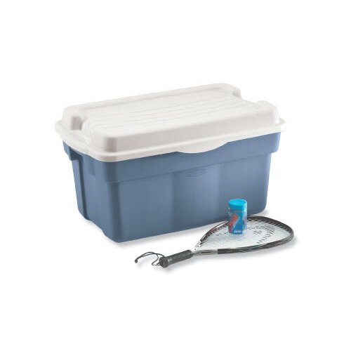 Rubbermaid Roughtote Hinged Storage Box