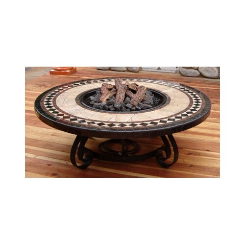 Sundance Southwest Traditional Style Fire Pit Table