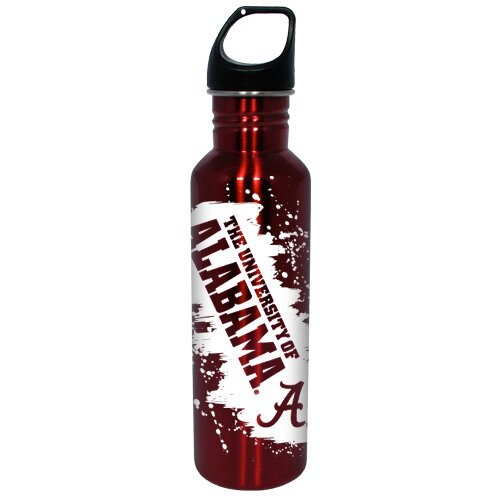 Hunter Licensed Sports NCAA 26 Oz Stainless Steel Water Bottle