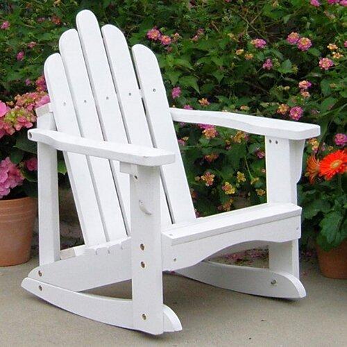 Shine Company Inc. Marina Kids Adirondack Rocking Chair Chair