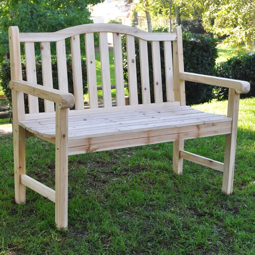 Shine Company Inc. Belfort Wood Garden Bench